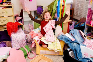 Kid With Clutter